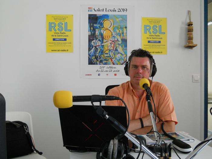 David Bénézech au micro des magazines