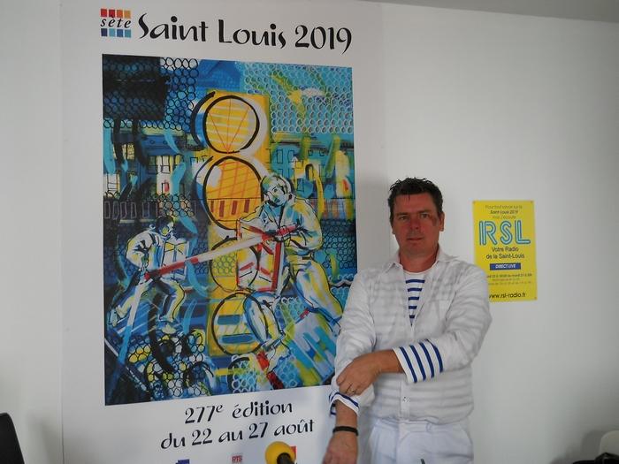 David Bénézech en tenue de combat pour le Tournoi de la Presse